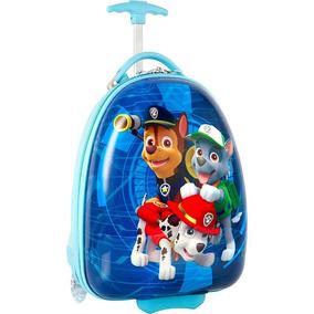 a23476d16 Maleta Rigida Nickelodeon Paw Patrol Forma Oval Para Niño