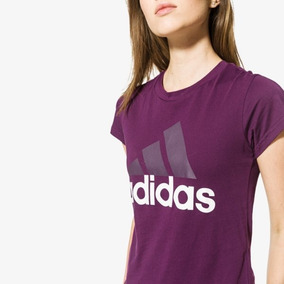 03955eb018db4 Camiseta Baby Look adidas Feminina Essentials - Original