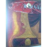 Pintura H.rojas Herazo La Dama Del Pescado Con Certificado