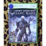 Xbox 360 Enemy Territory Quake Wars