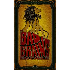 Poster Bad Brains Impressão Laser A3 - 007