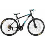 Bicicleta Aro 29 Freio A Disco 21 Vel Câmbio Shimano Preto/a