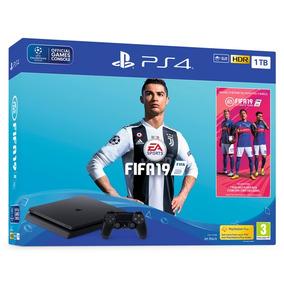 Ps4 Playstation 4 1tb Modelo 2215b Americano+ Jogo Fifa 2019