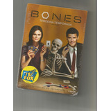 Bones - 3ª Temporada - 4 Dvds Box Lacrado
