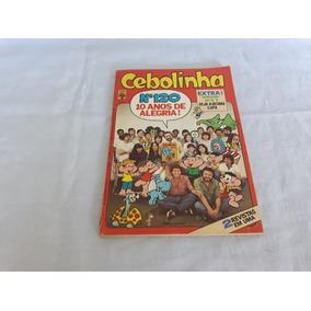 Gibi Cebolinha Nº 120 - Ed Abril - Dezembro 1982 - 10 Anos