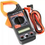 Tester Pinza Multitester Amperímetro Digital 79045