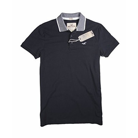 Camiseta Hollister Negro1 Xs