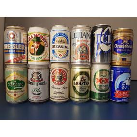 Coleção De Latas Anos 80 E 90 - 200 Unidades Vazias