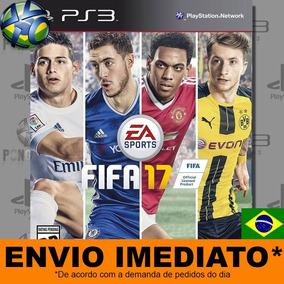 Fifa 17 Jogo Ps3 Dublado Português Brasil Envio Imediato