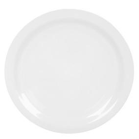 Prato Raso Melamine Branca 25cm