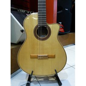 Guitarra Criolla Fonseca 41kec Electroacustica Canje Envio!!