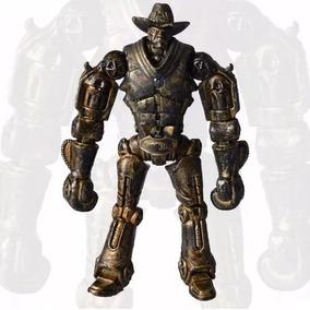 Gigantes De Aço Boneco 14cm Real Steel Six Shooter