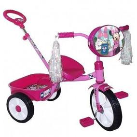 Triciclo Minnie Cajuela Barra Empuje R12
