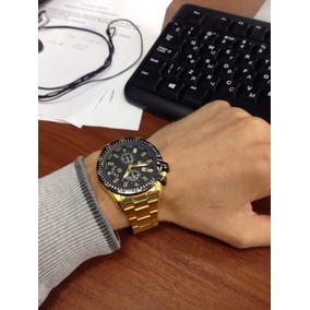 Relógio Masculino Luxo (resistente Mas Nao A Prova De Agua)