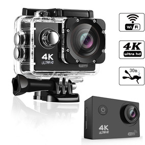 Câmera De Ação Action Pro Sport 4k / Tf Card 2 / Wi-fi