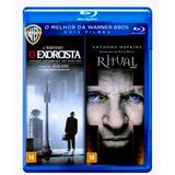Blu Ray O Exorcista + O Ritual - 2 Filmes