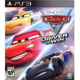 Cars 3 Driven To Win - Ps3 - Digital - Manvicio