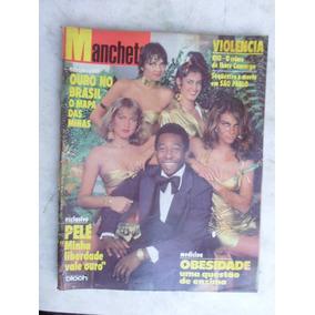 Revista Manchete Pelé Xuxa - 1980 - Nº 1496 Barato