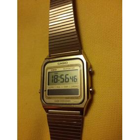 46dab43603c2 Reloj De Pulsera Vintage Casio Sa-60g