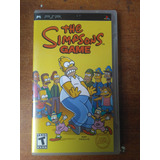 Juego Psp Umd The Simpsons Game