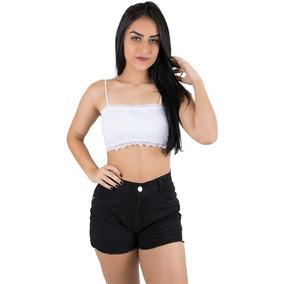 4b3c14bcf3dceb Blusas Cropped Da Moda - Sutiãs Com Bojo no Mercado Livre Brasil