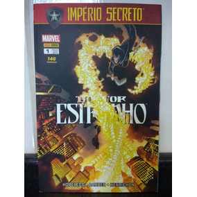 Hq Doutor Estranho 1 Imperio Secreto Marvel Panini 2018 Rjhm