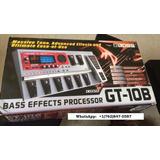 Boss Gt-10b Multi-effects Guitar Effect Pedal