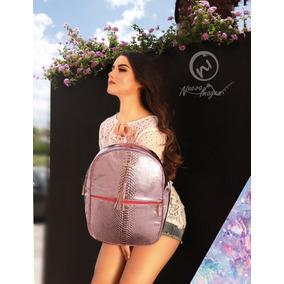 Mochila Dama Espejo Super Fashion Escolar Mayoreo ¡negocio!