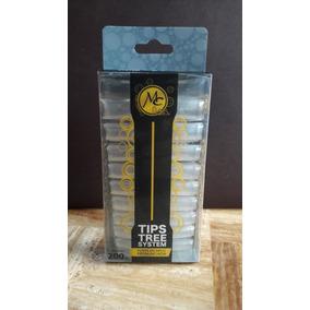 Tips Punta Curva C Transparente, Uñas , Mc Nails , 200 Pzas