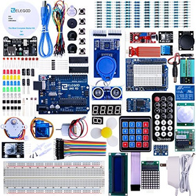 Elegoo El-kit-001 Uno Proyecto R3 Kit De Inicio Completo Con