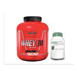Whey 3w 1,8kg Integral Médica + Dilatex 152 Cáps