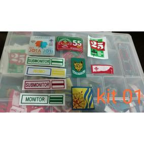 Kit Distintivos Variados Escoteiros Do Brasil
