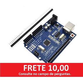 Arduino Uno R3 Mega328p + Cabo Usb ( Frete Barato)