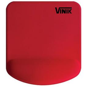 Mouse Pad Gel Vermelho Mpg02r Vinik