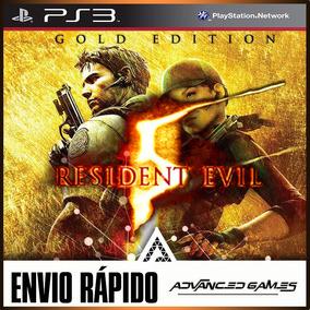 Resident Evil 5 Gold Edition + Dlcs Jogos Ps3 Midia Digital