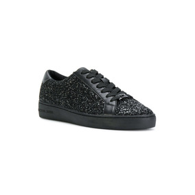 Tenis Michael Kors Irving Lace Up Glitter 5.5 Mex