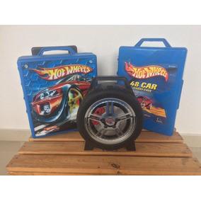 Colección De Carros / Carritos Hot Wheels Con Maletín