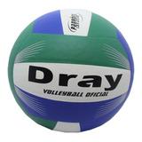 Bola De Voley Dray Original Barato Verde Branco Azul
