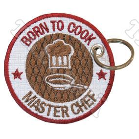 effcf36f61ced Chaveiro Patch Nascido Para Cozinhar Panela Masterchef
