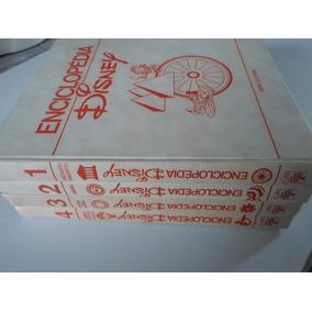 Enciclopedia Disney Do 1 Ao 4 Editora Abril Raro 1973 Hq