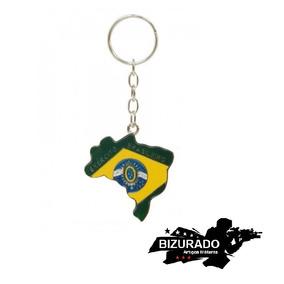 Chaveiro Mapa Do Brasil (bizurado)