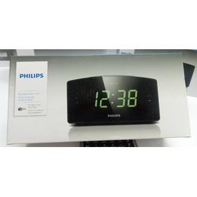 79898bacfad Rádio Relógio Digital Philips Aj 1003 12 Fm Bivolt - Eletrônicos ...