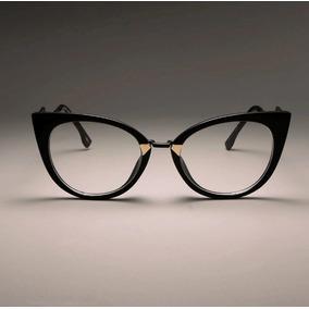 Armacao Oculos Estilo Gatinha - Óculos no Mercado Livre Brasil 78350cf736