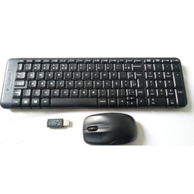 # Kit Teclado E Mouse Sem Fio Logitech K220 Semi-novo #