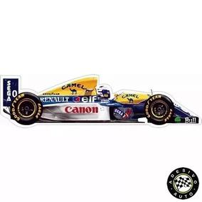 Adesivo Alain Prost Williams Fw15c F1 Formula 1 Carros