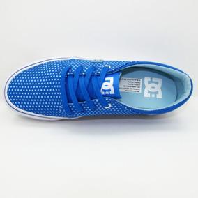 Tenis Original Dc Trase Tx Sp Azul