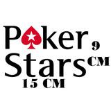 Adesivo Logo Poker Stars Online Poker Com Frete Grátis