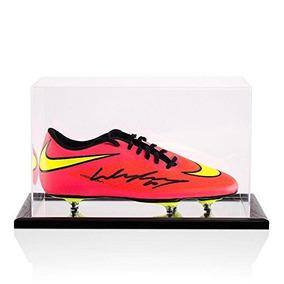 Bota De Fútbol Firmada Wayne Rooney Nike Hypervenom Blood Or e3d6e63ee3433