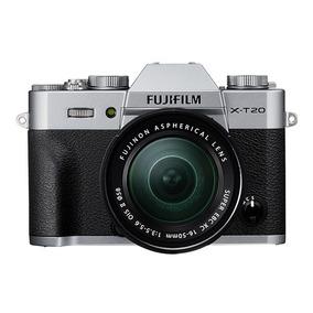 Cámara Fujifilm Xt20 Silver + Lente Xc16-50mm (12782)