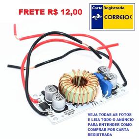 Conversor Dc/dc Boost Step Up 250w 10a 8-50vdc Frete R$ 12
